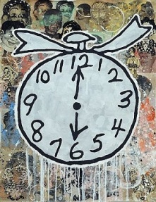 Donald Baechler - Clock