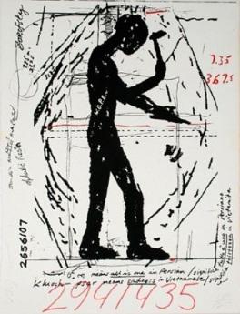 Jonathan Borofsky - Hammering Man