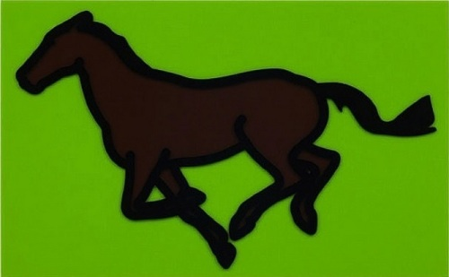 Julian Opie - Galloping Horse