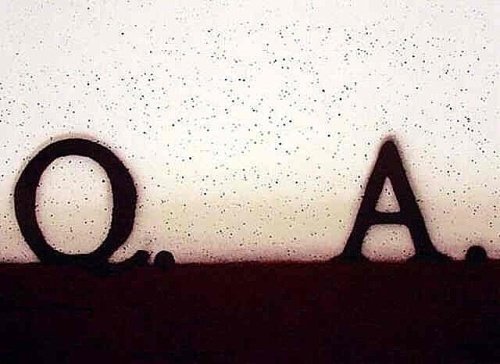 Ed Ruscha Question and Answer