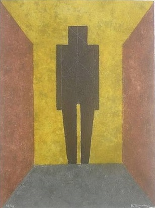 Rufino Tamayo - Figura en Negro