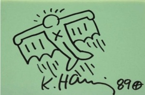 Keith Haring - Flying Man